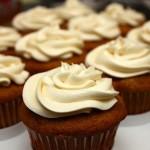 Chocolate Pumpkin Cupcakes